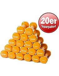 Oliver vinylhantel paire d'haltères de force musculaire 1,0 kg (orange) 10 Paar
