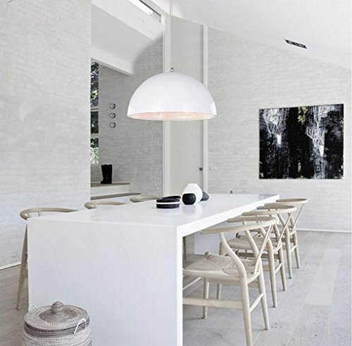 SDKKY Lampadario in resina Lampadario minimalista moderno ristorante creativo Boutique Creative Arts Bar Bar 220V monotesta , sky garden white 120w