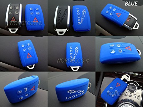 quality-silicone-5-button-smart-keyless-fob-protector-case-jaguar-xk-xf-se-xfr-blue