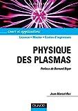 Image de Physique des plasmas : Cours et applications