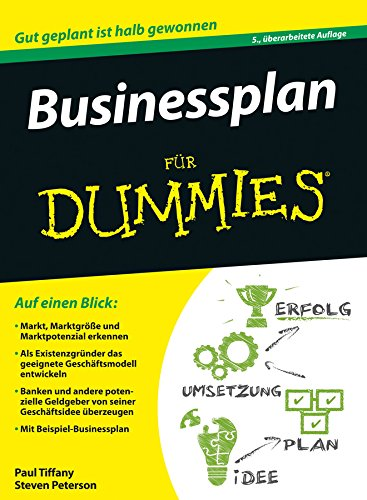 Businessplan für Dummies
