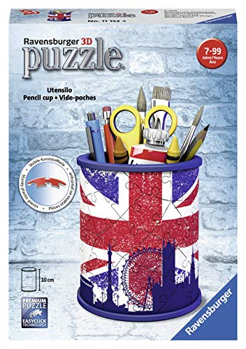 Pot a crayons Union jack 54p