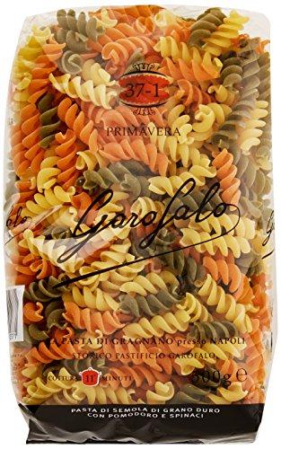 Garofalo Fusilli Tricolore Pasta, 500 g, Pack of 4