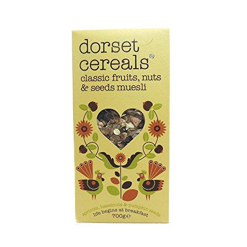 DORSET CEREALS - MUESLI - CLASSIC FRUITS  NUTS & SEEDS - 700G (CASE OF 5)