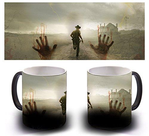 Tazza magica sensitiva al calore-Walking Dead
