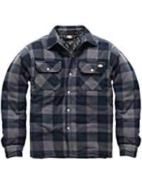 Dickies - Portland homme - XL, Plaid bleu