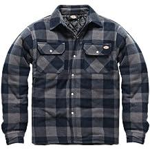DICSH5000-B-XL - Dickies Portland Shirt Blue/Grey X Large