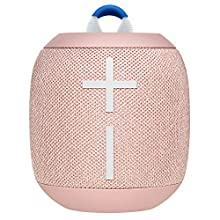 Ultimate Ears Wonderbooms 2 Wireless Speaker, Deep Bass, 360 ° Surround Sound, Waterproof, 2 Speaker Connection for Powerful Sound, 13h Battery, Melon Color