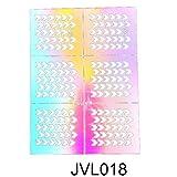 squarex Nail Art Transfer Aufkleber Design Hohl Maniküre Tipps Aufkleber Dekoration auch AS SHOW M