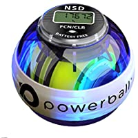 Powerball 280 Hz Autostart Collection - Appareil d'exercice pour la Préhension et Les Avant-Bras, Renforce Les Muscles des Avant-Bras, Rééducation Douleur au Poignet, Fractures du Poignet