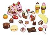 Howa Kaufladenzubehör Süßes aus Holz 4854
