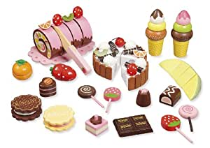 """wooden toy shop accessories """"Sweets"""" by howa 4854"""