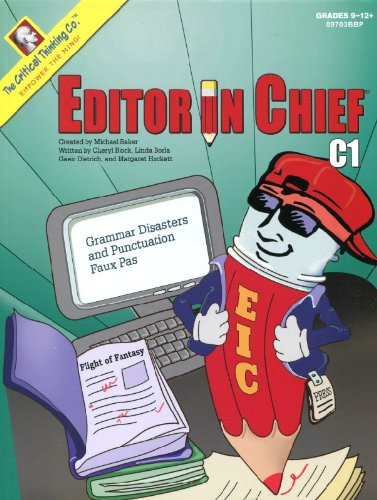 Editor in Chief, Book C1 por Cheryl Block