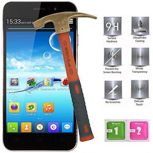 Displayschutzfolie aus Hartglas für JIAYU G5 3G 4,5 Zoll