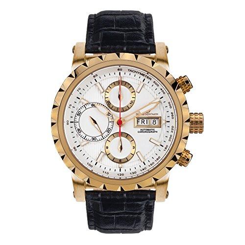 Mathis Montabon MM-25 Le Chronographe gold blanche