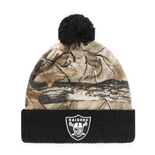 NFL Grayson OTS Cuff Knit Cap mit Pom, One size, unisex - erwachsene, NFL Greyson OTS...