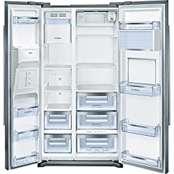 Bosch KAG90AI20 frigo américain - frigos américains (Autonome, Acier inoxydable, Américain, A+, SN, N, ST, T, 4*)