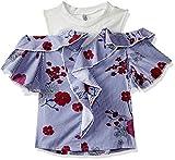 #3: Lee Cooper Girls' Striped Regular Fit Shirt