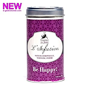"Infusion "" Be Happy"" Violette Citronnelle Verveine"