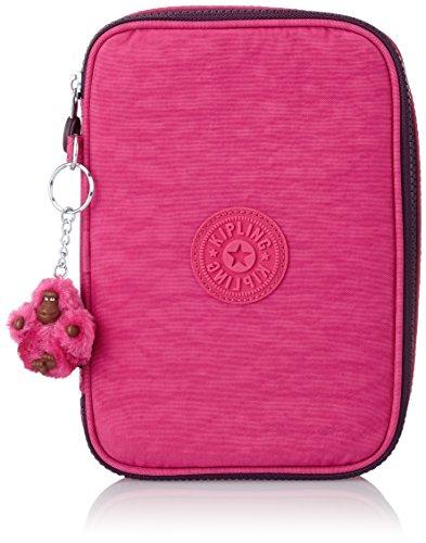 kipling-100-pens-astuccio-grande-pink-berry-c-rosa