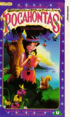 Pocahontas - The Adventures Of - Indian Princess [VHS] [UK Import] -
