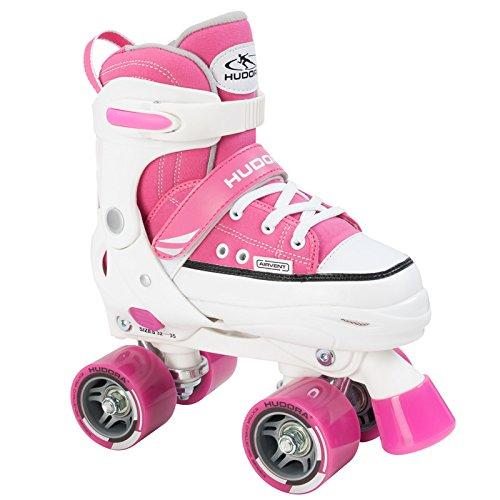 HUDORA Rollschuh Roller Skate Gr. 28-39 pink Rollschuhe Skates Discoroller