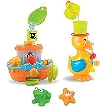 Juguetes para baño (3 actividades)