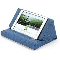 Almohada de Apoyo IPEVO PadPillow para todas las generaciones de iPad Air, iPad mini, iPad 4, iPad 3, iPad 2, iPad 1, Nexus y Galaxy - azul vaquero