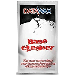Ski & Snowboard-Basis Reiniger und Ohrschmalz Entferner Schachtel mit 5 Tücher zu reinigen bases vor Wachs