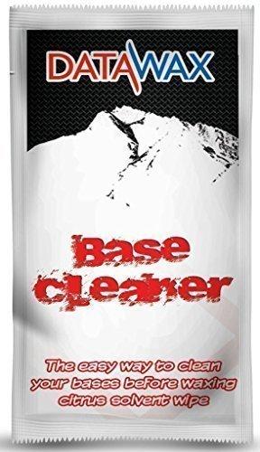 Ski & Snowboard-Basis Reiniger und Ohrschmalz Entferner Schachtel mit 5 Tücher zu reinigen bases vor Wachs (Entferner-tuch Wachs)