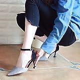 ZHUDJ Meubles Hauts Talons Au Printemps De Placages De Chaussures Pour Femmes, Minces Talons Hauts Et Chaussures Chaussures Unique Peu Profondément Marquée, Trente-Quatre,Couleur Des Armes À Feu