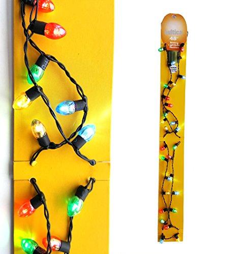 Preisvergleich Produktbild Weihnachts Lichterkette Halskette zum Umhängen alle Lichter leuchten Modus blinkend und still leuchtend Weihnachtsfeier Weihnachtsmarkt Hit
