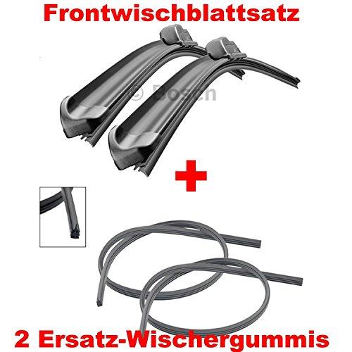 Preisvergleich Produktbild BOSCH AEROTWIN AR605S 3397007504 Scheibenwischer 600 / 350 + 2x GELAN Ersatz Wischergummis - SET [ VORTEILSPAKET ]