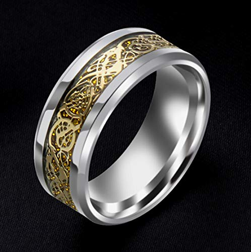 Sorella'z Mens Alloy Metal Golden Ring