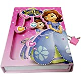ARTBOX Paper and Board Girlish Print Box Diary Protected with Lock Large (Multicolour)