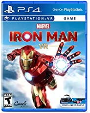 Marvel's Iron Man VR for PS4 (VR Headset Kit and PS Move controllers required) (