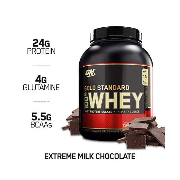 Optimum Nutrition Gold Standard 100% Whey Proteine in Polvere con Proteine Isolat ed Aminoacidi per la Massa Muscolare… 1 spesavip