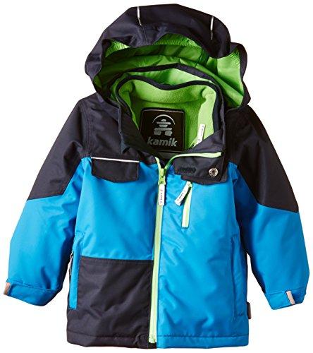 Kamik giacca sportiva di sistema Jacket Boys verde ragazzo, Ragazzo, Systemjacke, Blu Aster, (Giacca Ragazzi Sistema)