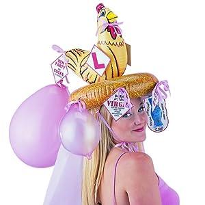 Boxer Gifts - Sombrero para disfraz de adulto para mujer a partir de 18 años (BB3004)