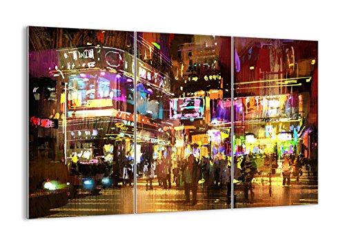 Quadro su vetro - tre 3 tele - larghezza: 165cm, altezza: 110cm - numero dell'immagine 3199 - pronto da appendere - elementi multipli - arte digitale - moderno - quadro in vetro - gce165x110-3199