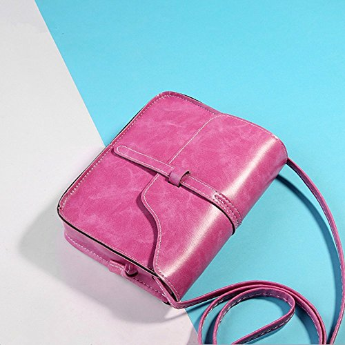 Eysee - Borsa a tracolla donna Rosso (rosa)
