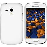 mumbi Schutzhülle Samsung Galaxy S3 mini Hülle (harte Rückseite) weiss