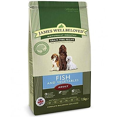 James Wellbeloved Adult Fish & Vegetable Complete Dog Food