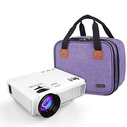Luxja Beamertasche für QKK Mini Beamer, Tragbar Projektor Tasche für DR.Q Projektor - 9