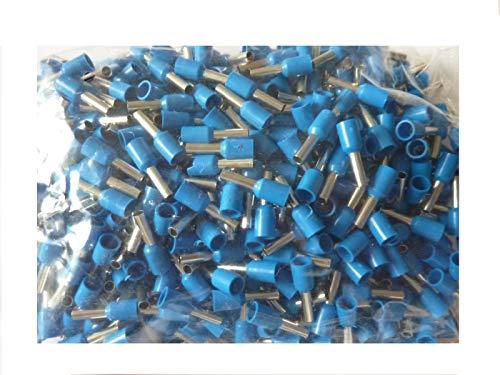 500 Stück SK-DV Aderendhülsen 2,5mm² x 8 mm blau Dv-kit