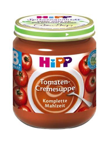 Hipp Tomaten-Cremesuppe, 6-er Pack (6 x 200 g) - Bio - Tomaten-pack
