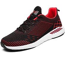 BIGU Scarpe da Ginnastica Uomo Donna Trekking Fitness Running Sneakers Sportive Respirabile Mesh Scarpe da corsa all'aperto Sneakers