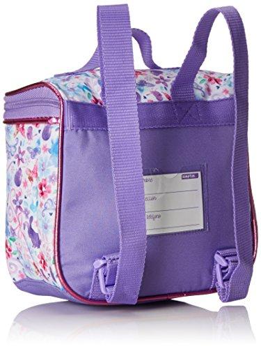 515FgICqM1L - Safta 611516481 - Mini Mochila Termo, color Púrpura