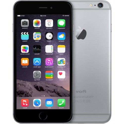 iPhone 6 Mobile Phone With 128GB Space, 8MP Camera And 4.7-inch Screen (Grey)