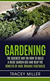 Gardening: The Quickest way on How to build a raise Garden Bed and reap the benefits of Huge organic vegetables